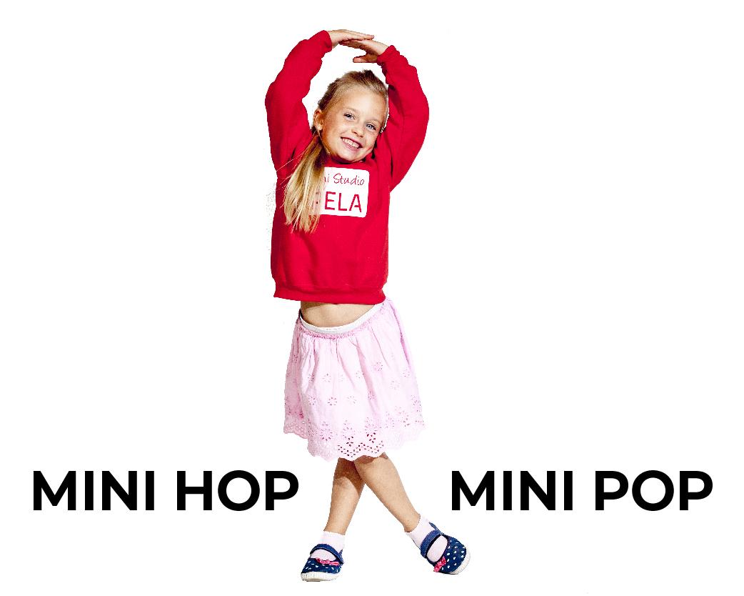 Plesni Studio Špela Mini pop Mini hop